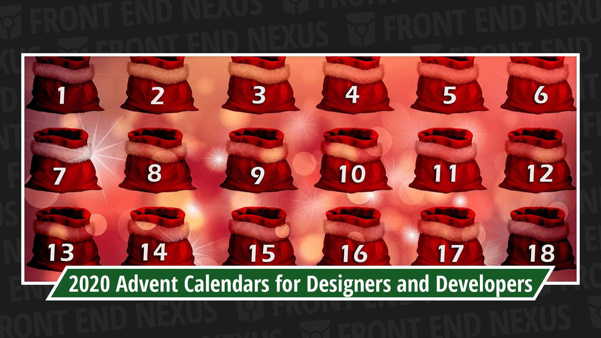 Banner for 2020 Roundup of Advent Calendars